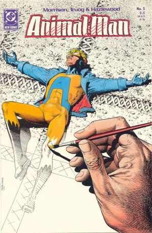 Cover for Animal Man #5