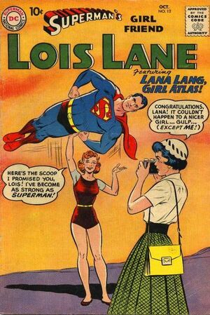 Cover for Superman's Girlfriend, Lois Lane #12