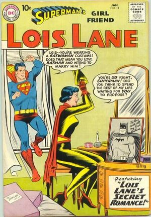 Cover for Superman's Girlfriend, Lois Lane #14
