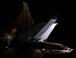 Sherval Das docked at DS9