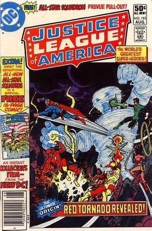 Cover for Justice League of America #193