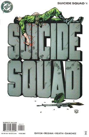 Cover for Suicide Squad #4