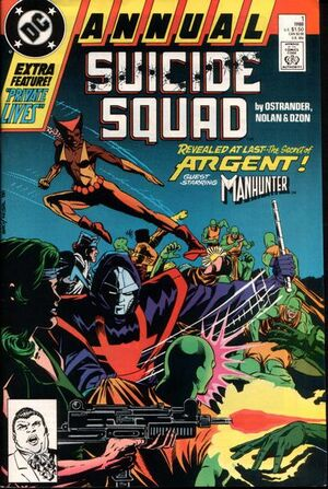 Cover for Suicide Squad #Annual 1