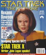 Star Trek The Magazine volume 2 issue 2 cover