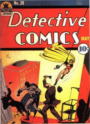 Cover for Detective Comics #39