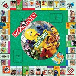 Sesamemonopolyboard
