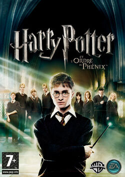 Harry Potter OotP game cover