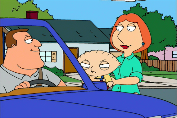 Family Guy Season 1 Episode 5 A Hero Sits Next Door