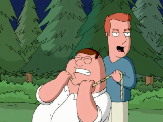 Family Guy Season 4 Episode 17 The Fat Guy Strangler