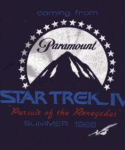 Early Star Trek IV t-shirt