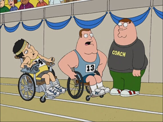 Family Guy Season 3 Episode 15 Ready, Willing, and Disabled