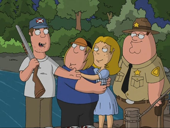 Family Guy Season 3 Episode 12 To Love and Die in Dixie