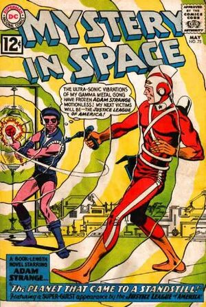 Cover for Mystery in Space #75