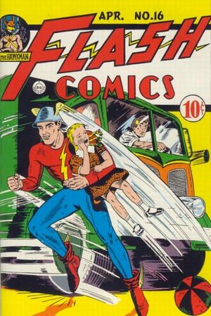 Cover for Flash Comics #16