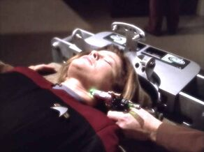 Kathryn Janeway treated for Dysphoria Syndrome