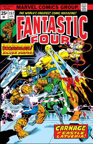 Fantastic Four Vol 1 157