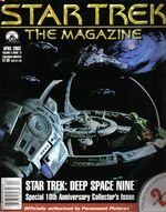 Star Trek The Magazine volume 3 issue 12 cover 2