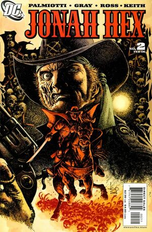 Cover for Jonah Hex #2