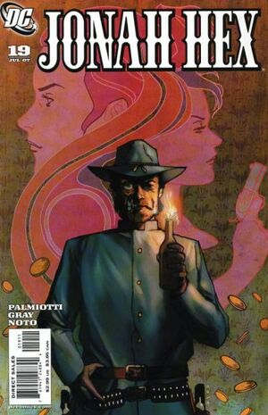 Cover for Jonah Hex #19