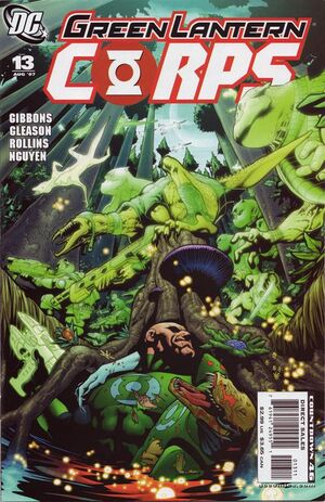 Cover for Green Lantern Corps #13