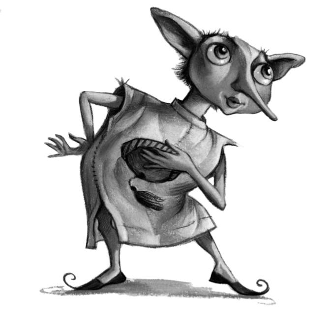 Dobby-illustration