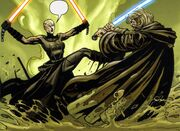 Ventress vs Kenobi
