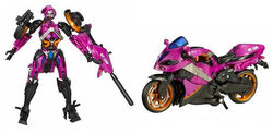 Movie Deluxe Arcee toy