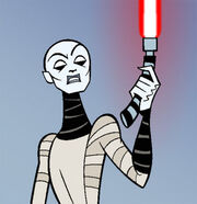 Asajj Ventress Cartoon