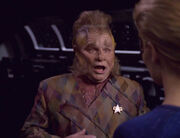 Neelix surprised by Seven