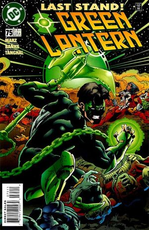 Cover for Green Lantern #75