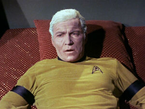 James Kirk prematurely aged