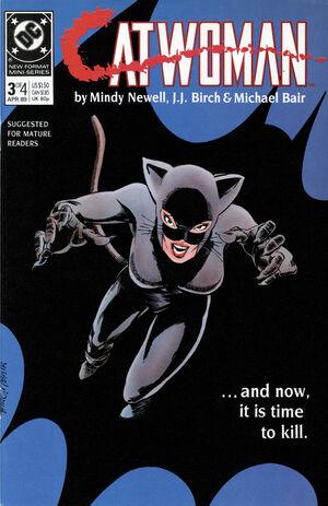 Cubierta para Catwoman # 3