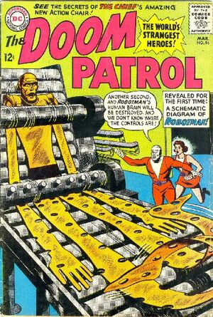 Cover for Doom Patrol #94