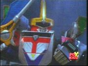 TF Shadow Force Megazord Mode Red