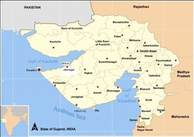800px-Map Gujarat state and districts-SIKKA