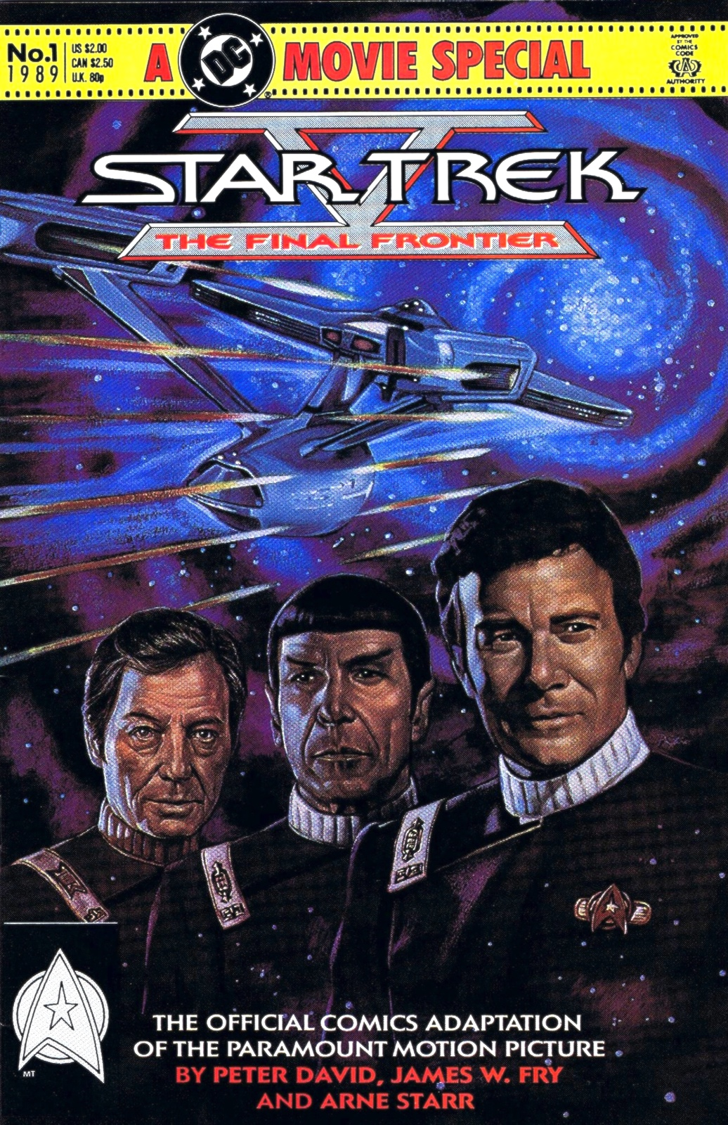 Final Frontier comic