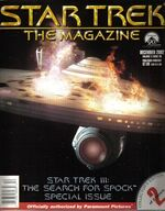 Star Trek The Magazine volume 3 issue 8 cover 2