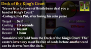 Deck of the King&#39;s Court
