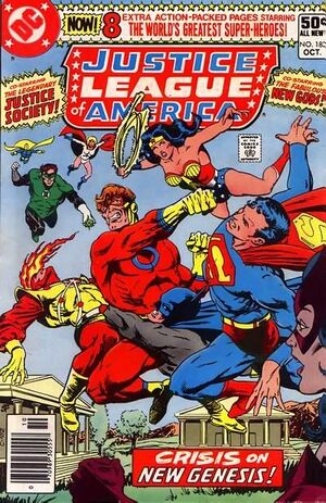 Cover for Justice League of America #183