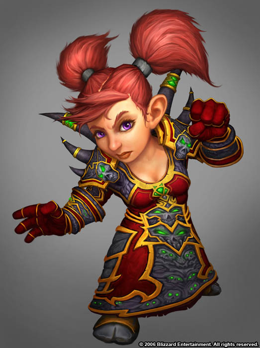 Female Gnome: Most Hated Race In Wow Currently
