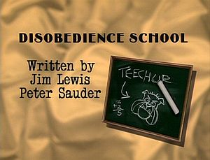 Disobedienceschool