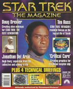 Star Trek The Magazine volume 1 issue 21 cover