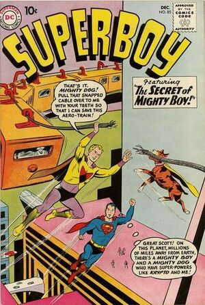Cover for Superboy #85