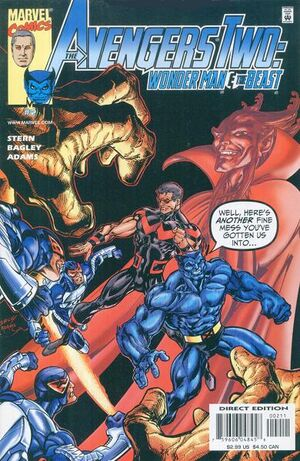 Avengers Two Wonder Man &amp; Beast Vol 1 2