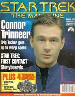 Star Trek The Magazine volume 2 issue 11 cover