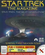 Star Trek The Magazine volume 2 issue 12 cover 1