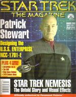 Star Trek The Magazine volume 3 issue 11 cover
