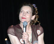 Alice Krige Star Trek Las Vegas Convention 2004