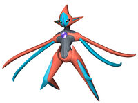 Deoxys Artwork (Super Smash Bros. Brawl)