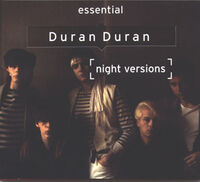 Duran duran night versions albumcover